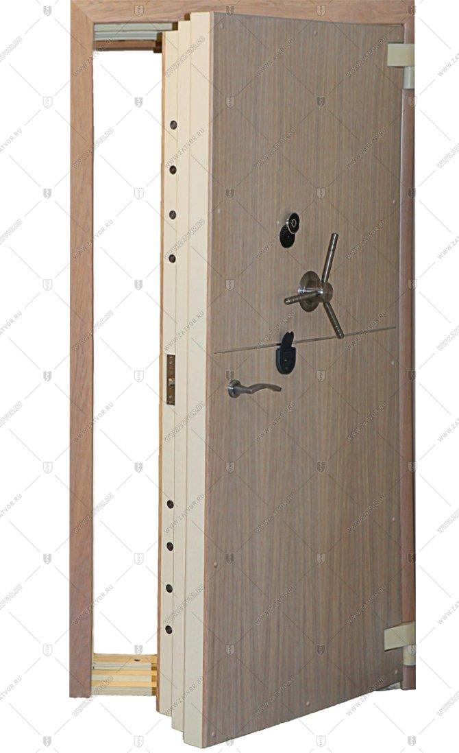 двери стальные сейфовые
